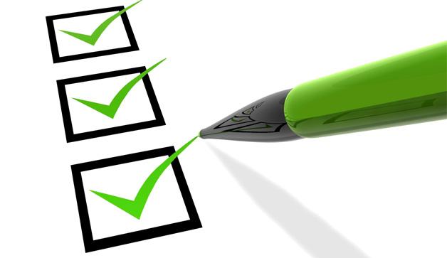 Greent check list